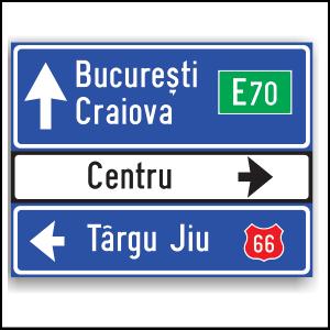 Indicatoare si limitatoare rutiere