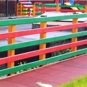 Gard lem colorat